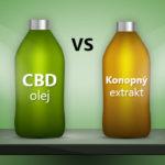 CBD olej vs. Konopný extrakt