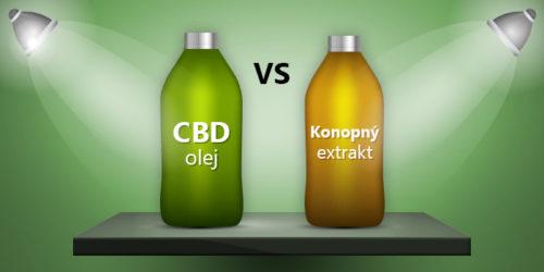 Rozdíl mezi CBD olejem, konopným extraktem a fénixovými slzami.